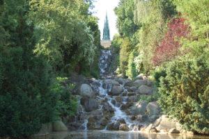 Wasserfall Viktoria Park